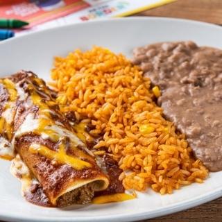 Kids Enchilada Plate