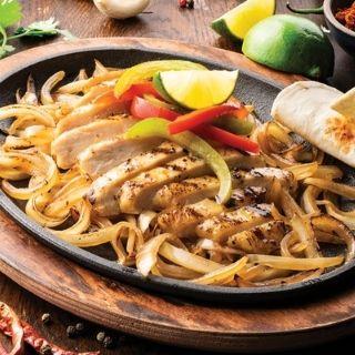 Border's Best Lunch Fajitas