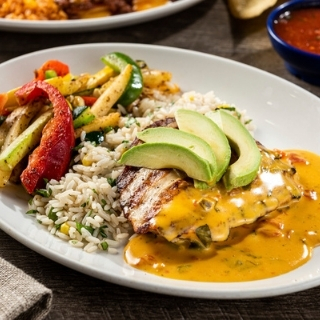 Grilled Queso Chicken