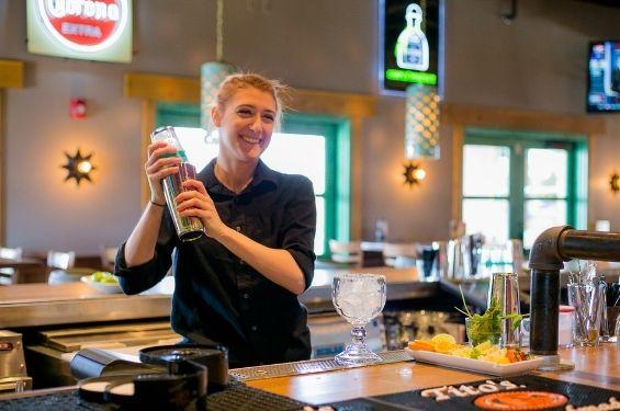 Girl-Bartender